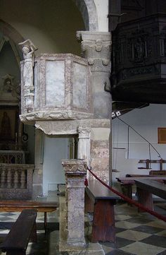 Cathedral of Krk, pulpits