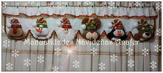 Aprende hacer cortinas navideñas Holidays And Events, Diy And Crafts, Santa, Advent Calendar, Christmas Ornaments, Holiday Decor, Home Decor, Navidad Diy, Irene