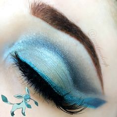 Ariel Make Up ~ Make Up & Beauty with a Princess Touch: ♕ The Pokémon Series ~ Glaceon ♕{Eeveelutions Mini Series}