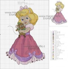 super ideas for knitting charts disney cross stitch Disney Cross Stitch Patterns, Cross Stitch For Kids, Cross Stitch Baby, Cross Stitch Designs, Beaded Cross Stitch, Cross Stitch Embroidery, Free Machine Embroidery Designs, Embroidery Patterns, Cinderella Crafts