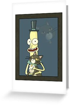& WHEEEEE, this lil& guy helps me get through the day!& / As you can see here, this is one unique portrait entitled: Mr. Poopybutthole and His Kitteh. Craft Corner, Kraft Envelopes, Card Sizes, Finding Yourself, Guy, Greeting Cards, Artists, Portrait, Unique
