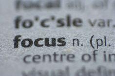 focus.