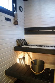 Valkoinen sauna...