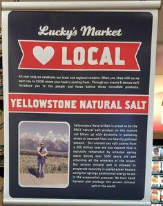 Lucky's Market Jackson Hole http://yellowstonesalt.com/