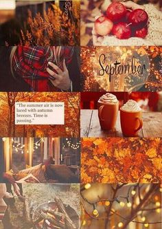 Reneabouquets September Mood Board Challenge With Give Away - Inspiration by DT Tina Goodwin Hallo September, October, September Quotes Autumn, Welcome September Images, Hello September Quotes, September Pictures, Autumn Cozy, Autumn Fall, Autumn Leaves