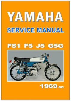 Yamaha Workshop Manual F5 FS1 J5 G5G 1969 1970 1971 1972 1973 Service Repair   eBay