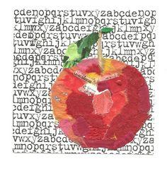 JLH Mind Mutterings: Collage Apple