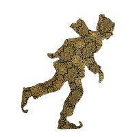 Les silhouettes de Collections et Compagnie rappellent les marionnettes du théâtre d'ombres, chères à l'imagerie alsacienne. Silhouettes, Herbs, Christmas Decorating Ideas, Puppets, Paper Pieced Patterns, Winter, Bricolage, Silhouette, Herb