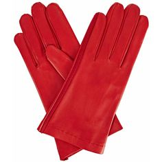 Gizelle Renee - Arabella Red Leather Gloves With Red Cashmere (1,445 MXN) ❤ liked on Polyvore featuring accessories, gloves, red leather gloves, leather gloves, red gloves, real leather gloves and cashmere-lined leather gloves