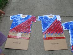 Fun idea for older kids! Create Your Own Fourth of July T-Shirt