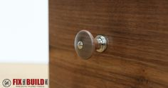 Turn Custom Wooden Cabinet Knobs On A Lathe