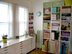 For my craft room, Alex drawers are perfect for storing all my craft supplies.