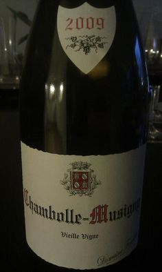 Domaine Fourrier Chambolle-Musigny Vieilles Vignes 2009 Ursula, Creme, Burgundy, Drinks, Bottle, Grape Vines, Drinking, Beverages, Flask