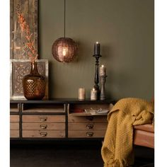 Buffet vintage métal & bois Sol Dutchbone DRAWER