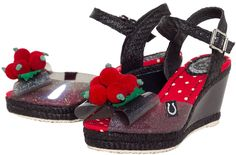 The cherry on top of every ensemble, with the 'Rhonda' wedges! #misslfire #wedges