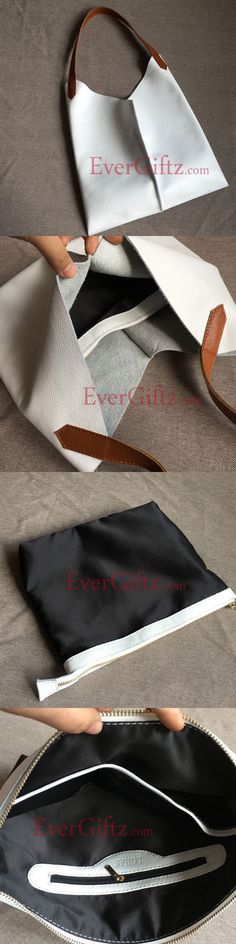 Genuine Leather vintage handmade shoulder bag cross body bag handbag Leather Bag Pattern, Sewing Leather, Leather Craft, Diy Sac Pochette, Chill Bag, Diy Bags Purses, Leather Design, Bag Making, Fashion Bags