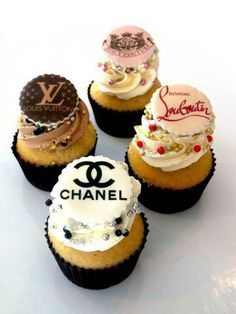 Fashion Designer Cupcakes - Use your own recipe and decorate! Love it!