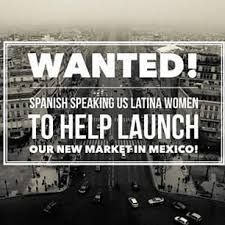 We now can sell in Mexico! We need presenters to help get it to those ladies! Wanna help start this amazing opportunity?!