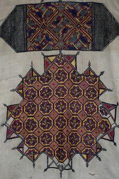 Moroccan Chechaouen embroidery   Karun Collection