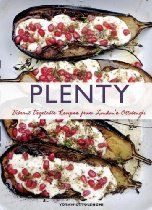 """Plenty: Vibrant Recipes from London's Ottolenghi  """"Yotam's food inspiration comes from his Mediterranean background and his unapologetic love of ingredients. Not a vegetarian himself, his approach to vegetable dishes is wholly original and innovative, based on freshness and seasonality, and drawn from the diverse food cultures represented in London. A vibrant photo accompanies every recipe in this visually stunning book. Essential for meat-eaters and vegetarians alike!"""""""