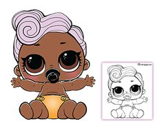 Lil DJ Coloring Page – LOL Surprise Doll Coloring Pages