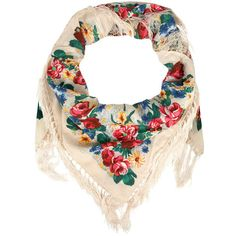 Gipsy floral scarf (47 BRL) ❤ liked on Polyvore featuring accessories, scarves, pañuelos, home accessories, floral shawl, floral scarves, dorothy perkins and floral print scarves