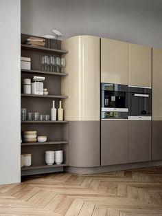 Design Kitchen, Shelving, Kitchen Cabinets, Home Decor, Design Of Kitchen, Shelves, Shelving Racks, Interior Design, Home Interior Design