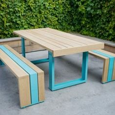 building an outdoor kitchen | From: Simple Outdoor Furniture made of White Oak – SR White Oak ...