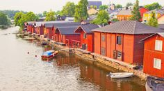 Even though Porvoo is not a coastal town, it is connected to the Gulf of Finland by Porvoonjoki, which flows through the city.