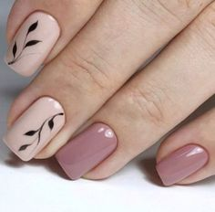 sencillo ideas manicure sencillo y elegante simple and elegant manicure ideas to French Manicure Gel Nails, Manicure E Pedicure, Manicure Ideas, Cute Acrylic Nails, Cute Nails, My Nails, Perfect Nails, Gorgeous Nails, Nailart Gel