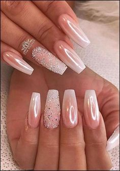 Spring fever nails 90 super cute spring nails page. - Spring fever nails 90 super cute spring nails page… Spring fever nails 90 super c - Fancy Nails, Cute Nails, Pretty Nails, My Nails, Dark Nails, Cute Spring Nails, Metallic Nails, Glitter Nails, Best Acrylic Nails