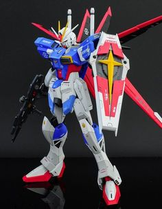 GUNDAM GUY: MG 1/100 Force Impulse Gundam - Painted Build