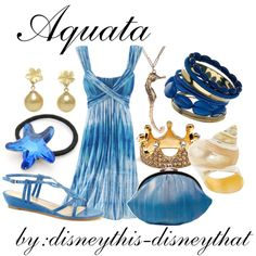"""""""Aquata"""" by disneythis-disneythat on Polyvore"""