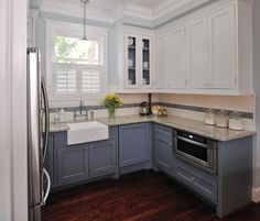 sherwin-williams kitchen cabinet colors | Traditional Kitchen design by Houston Interior Designer Carla Aston ...