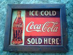 Placa vintage com moldura de madeira de demolição acabamento rústico