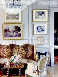 animal print - leopard print in a classy way. love