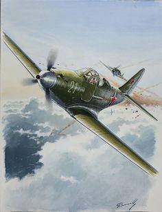 Un P-39 de la Force Aérienne Soviétique