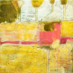 Encaustic painting - Beata Wehr
