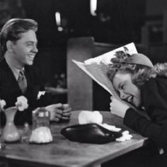 Judy Garland and Mickey Rooney. The chemistry these two had... it had to of been love
