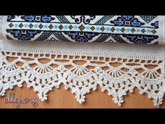 Border for a bench hammer a hook. How to tie a bench hammer. Crochet edging for towels. Crochet Borders, Crochet Motif, Crochet Designs, Crochet Doilies, Crochet Lace, Crochet Stitches, Free Crochet, Cross Stitches, Loom Patterns