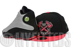 8af857a42d20 atlanta-braves-jet-black-infrared-bliss-air-jordan-xiii-retro-premium-reflective-matching- new-era-fitted-cap-close-up-1.gif (640×427)