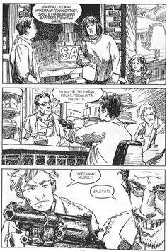 PULP-pokkari: Väkivaltainen tausta. #egmont #sarjakuva #sarjis