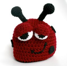 Ladybug...I'm going to be up to my neck in yarn!
