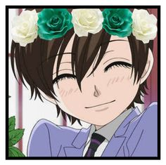 """OHSHC Icon: Haruhi Fujioka"" by timeladylibrarian ❤ liked on Polyvore featuring art"