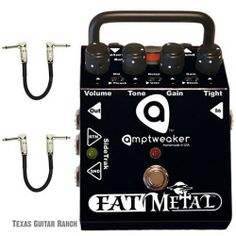 Amptweaker Fat Metal Guitar Effects Pedal Distortion Overdrive FatMetal OD