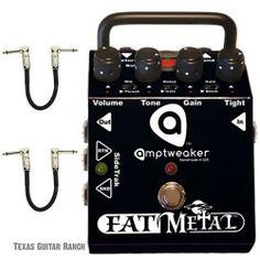 Amptweaker Fat Metal Guitar Effects Pedal Distortion Overdrive FatMetal OD