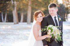 Elegant winter wedding bouquet