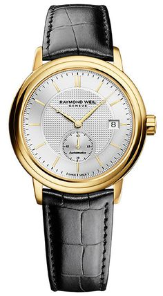 Raymond Weil Watch Maestro #bezel-fixed #bracelet-strap-leather #brand-raymond-weil #case-depth-9-93mm #case-material-yellow-gold #case-width-39mm #date-yes #delivery-timescale-call-us #dial-colour-silver #gender-mens #luxury #movement-automatic #official-stockist-for-raymond-weil-watches #packaging-raymond-weil-watch-packaging #style-dress #subcat-maestro #supplier-model-no-2838-pc-65001 #warranty-raymond-weil-official-2-year-guarantee #water-resistant-50m