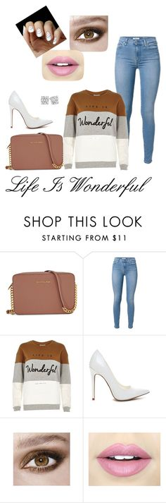 """""""Wonderful"""" by mendezjess3 on Polyvore featuring Michael Kors, River Island and Fiebiger"""