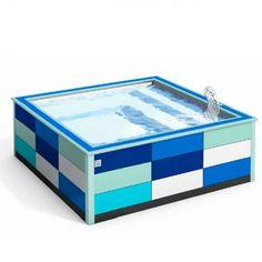 Coup de coeur de la rédac: la piscine ultra-compacte Doodoopool de Piscinelle